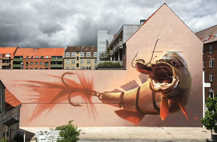 Street Art - The awesome creations of Wes21