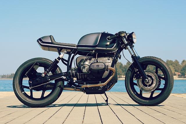 Mighty Motorcycles: кафе рейсер BMW R80 Bulldog