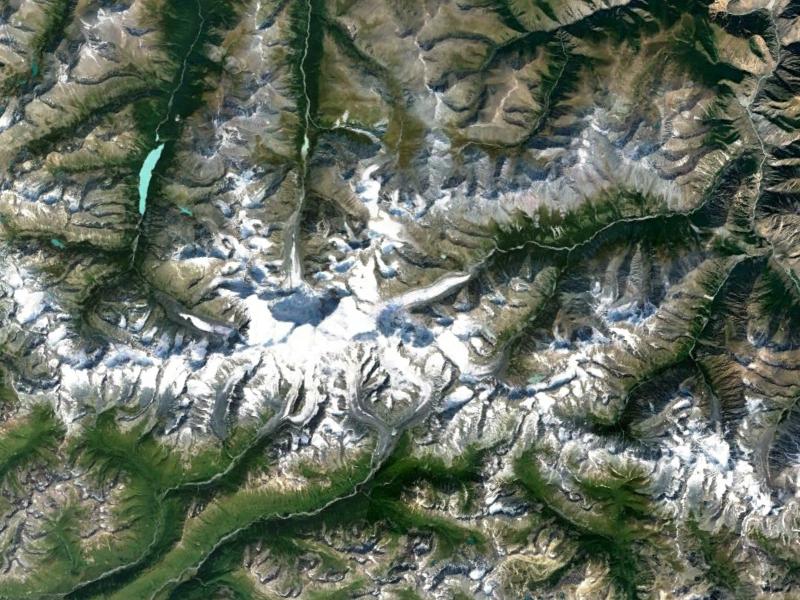 Гора Белуха. Алтайский Край.