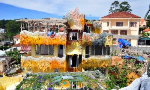Цвета солнца... Crazy House. Далат. Вьетнам