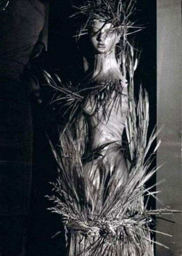1957. Нимфа для витрины «Баленсиага», авеню Георга V