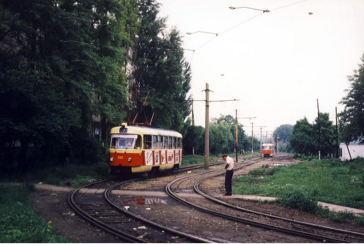 1985. Ростов-на-Дону. Улица Калинина