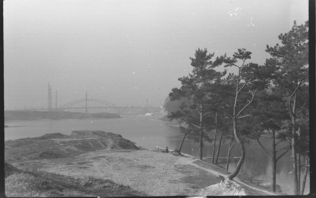 07.1968. Москва. Залив на канале им. Москвы у Левобережной улицы