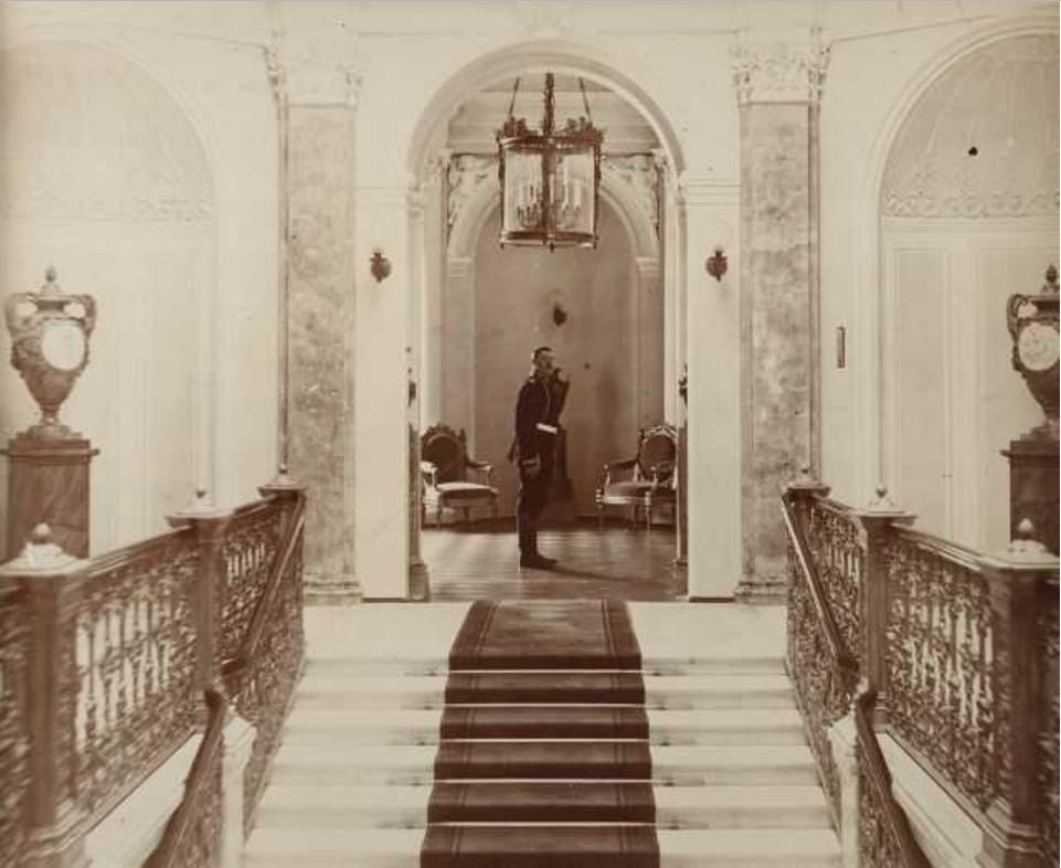 Великий князь Михаил Александрович в Гатчине. 1910