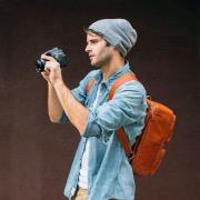 парень фотограф