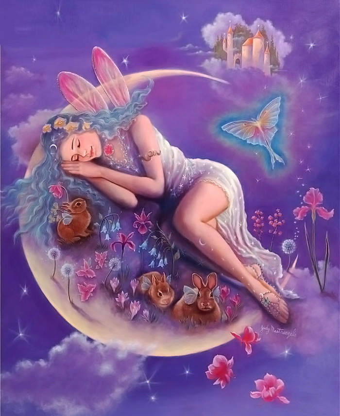 Картинки волшебной ночи сказочных снов, крестиком картинки