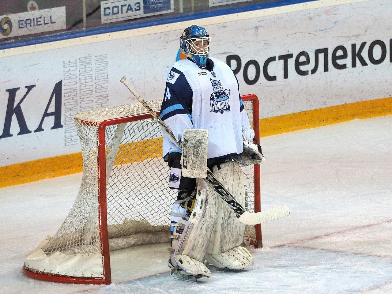 20Плей-офф МХЛ 2016 1/4 Стальные Лисы - Сибирские Снайперы 21.03.2016