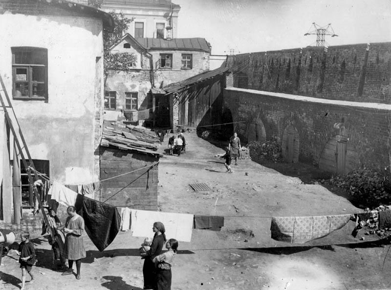 1926-29 Зарядье. Дворы вдоль Китайгородской стены.jpg