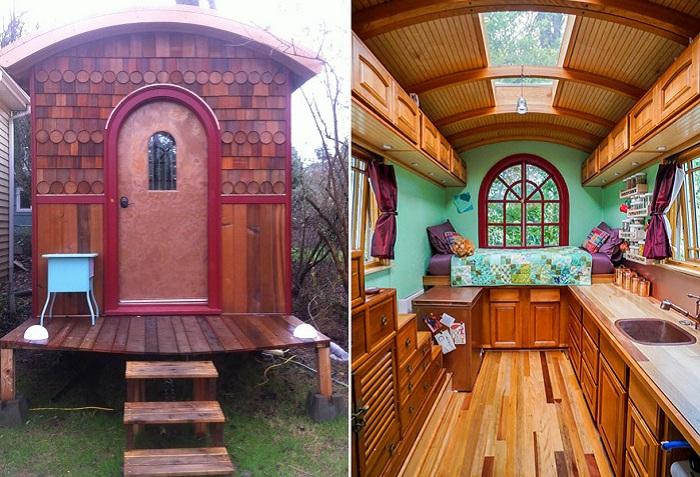 Миниатюрные, но удобные домики