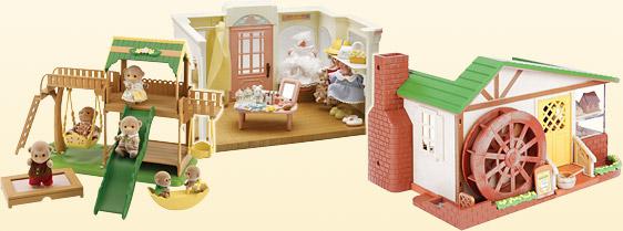 Игрушечные дома и другие постройки от Sylvanian Families покупайте дешево на sylvanian-club.ru