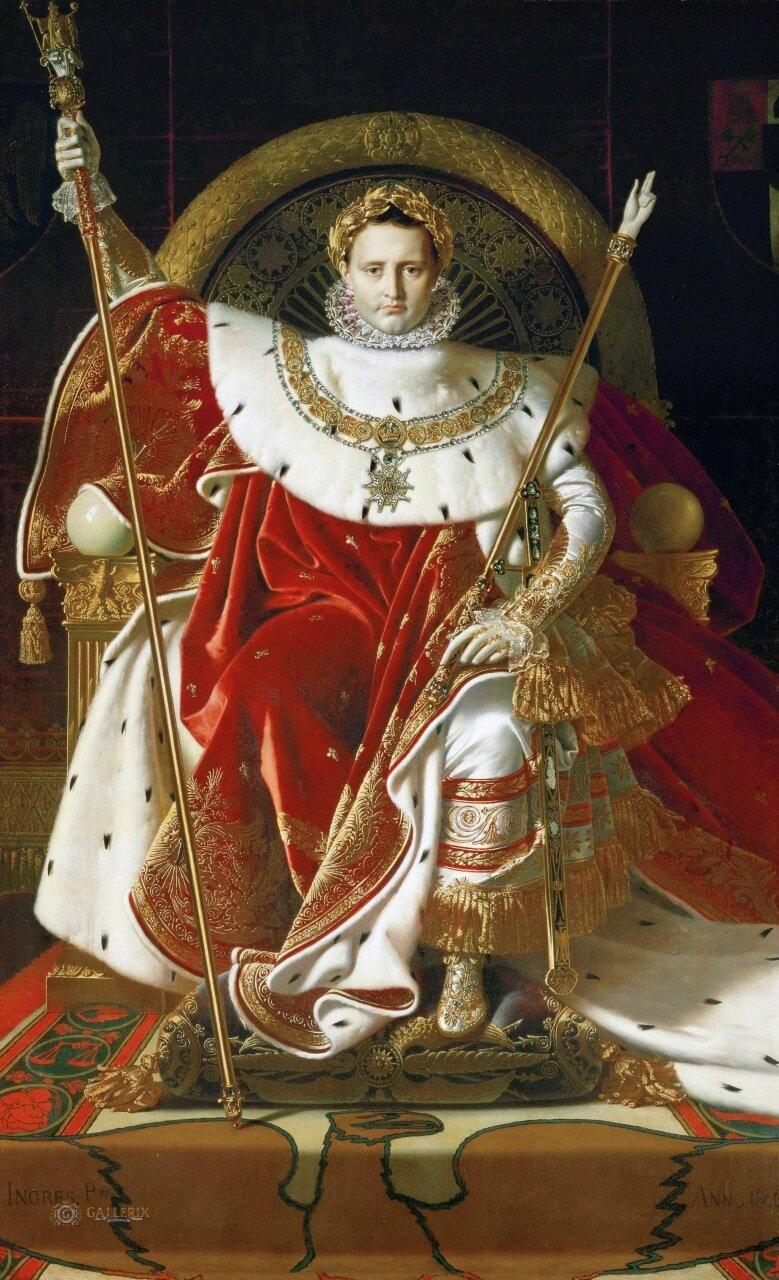 Жан Огюст Доминик Энгр: Наполеон на императорском троне