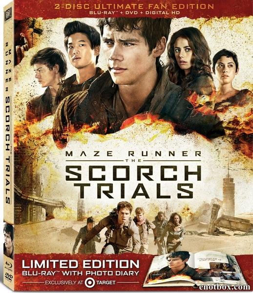 Бегущий в лабиринте: Испытание огнём / Maze Runner: The Scorch Trials (2015/BDRip/HDRip)