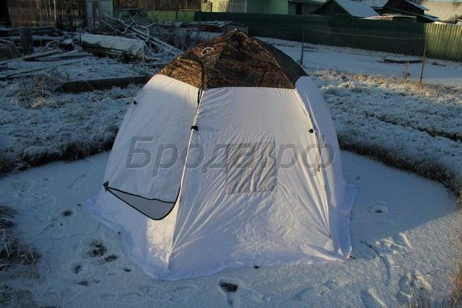 Палатка для зимней рыбалки Берег 3М