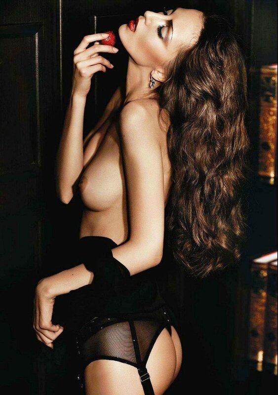 Anna Sbitnaya in Playboy