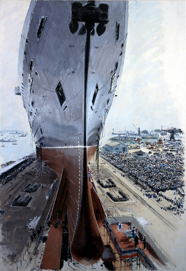 Albert Brenet - SS France at Saint-Nazaire, 1961