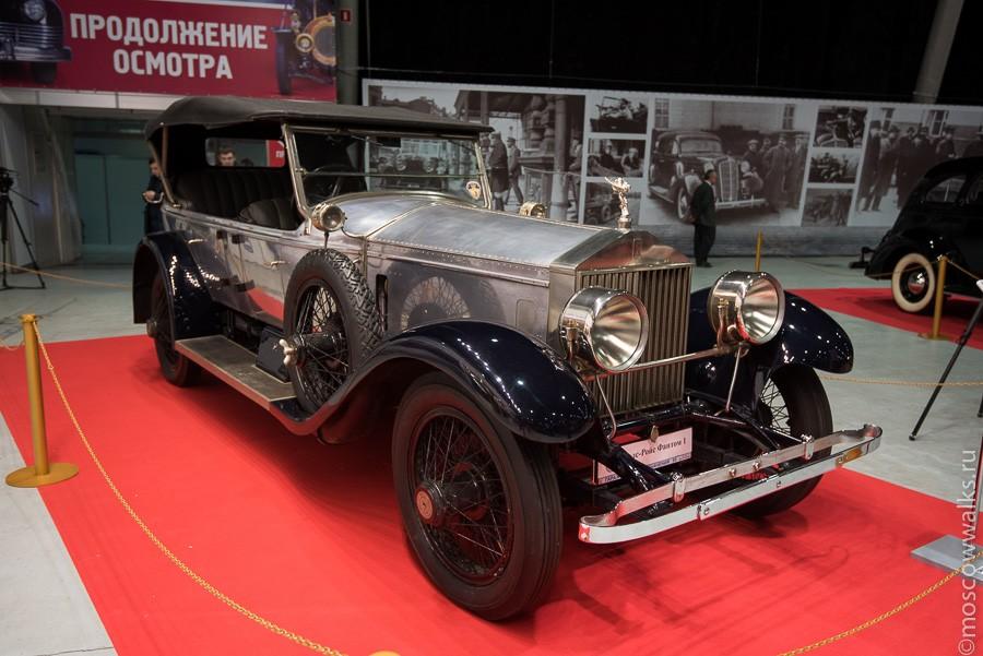 История Гаража особого назначения (ГОН) началась в январе 1921 года, когда из состава автомобильной