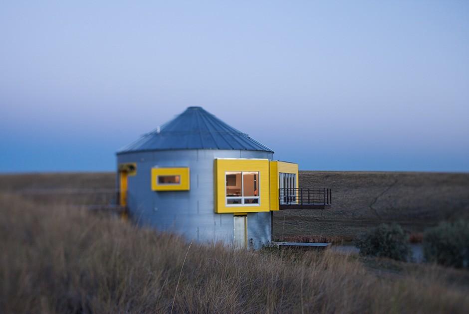 Проект Grain Bin Residence дизайнера Nick Pancheau, AIA Если вы думаете, что в США есть только один