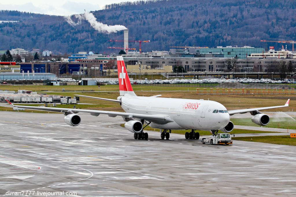 Официальный споттинг в Цюрихе