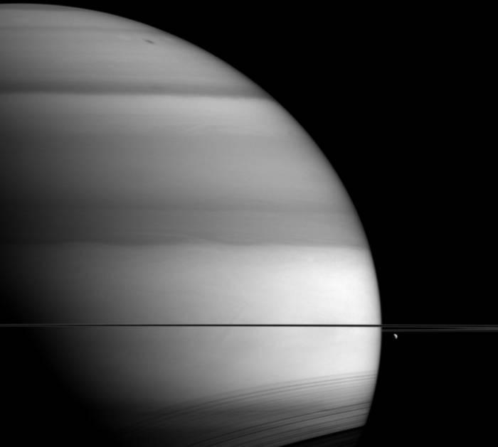 Кольца Сатурна могут оказаться оптической иллюзией— Ученые