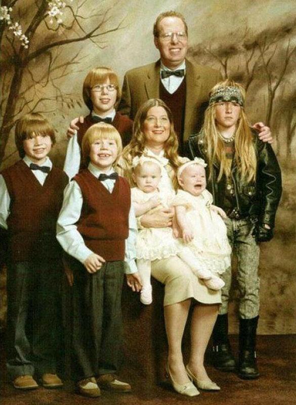 В семье не без… рокера?..