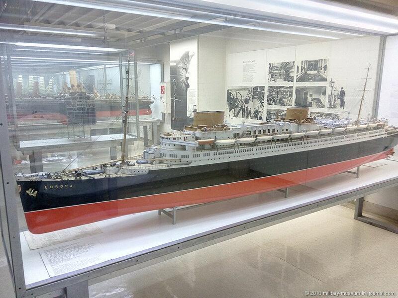 Морская коллекция Немецкого музея в Мюнхене