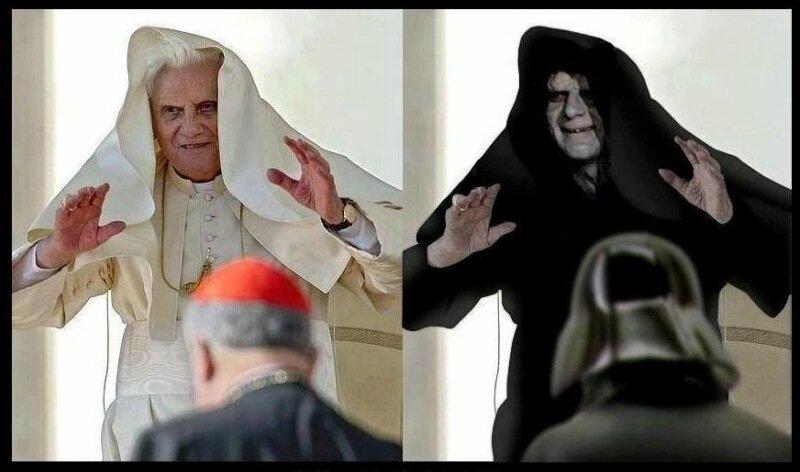 Папа римский отрекся от престола по приказу Бога