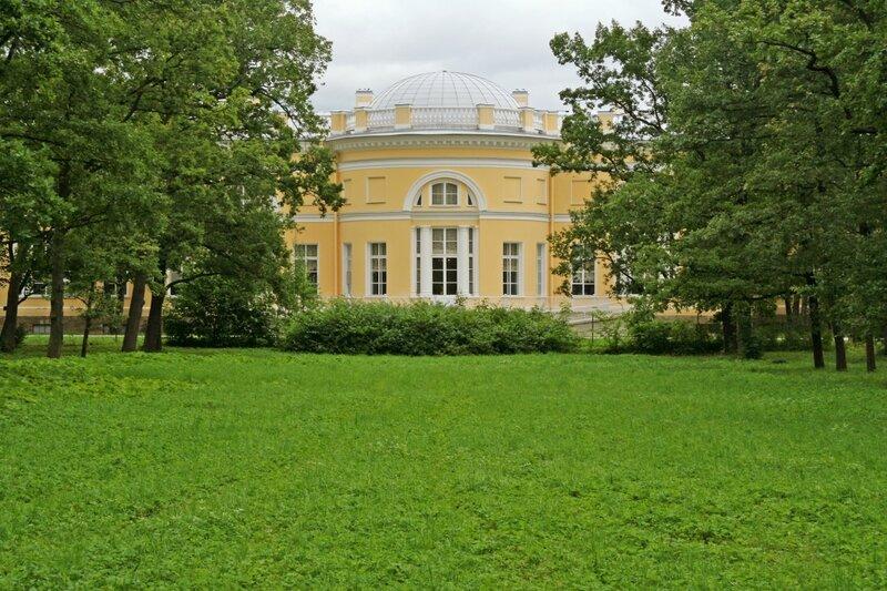 Полуротонда Полукруглого зала, Александровский дворец, Царское Село