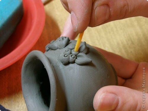 Мастер-класс Лепка: Глиняное литье. Глина. Фото 19