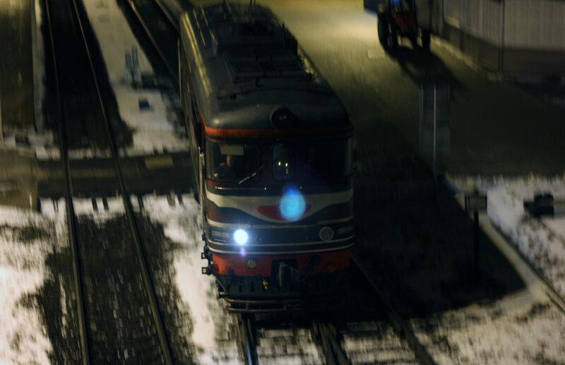 ТЭП60-0391 на станции Витебск