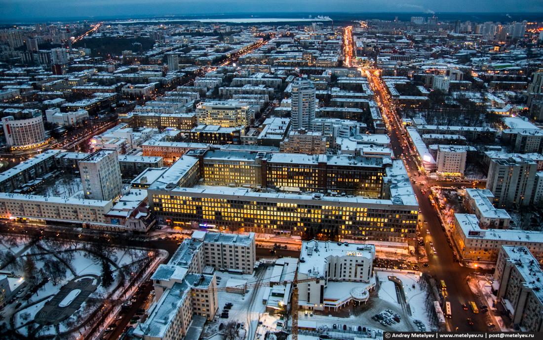 Екатеринбург, вид с Высоцкого