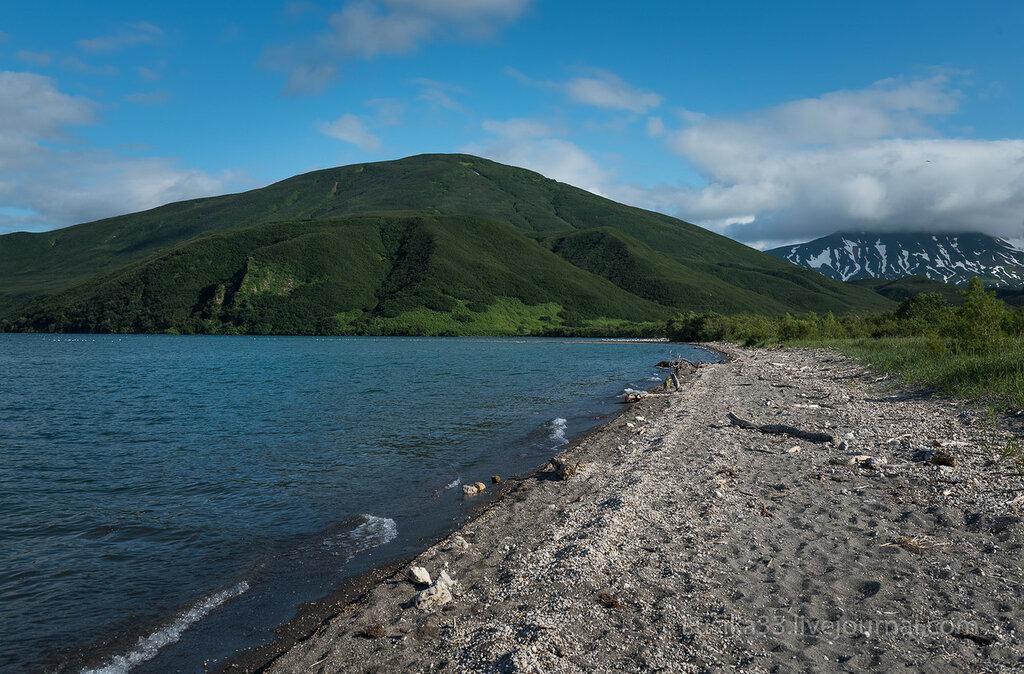 Курильское озеро, р. Хакыцин до сыпухи