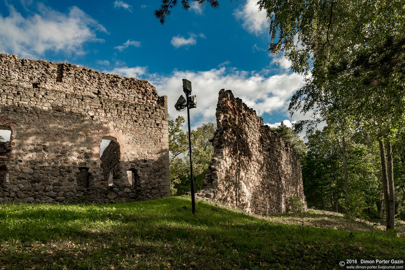 Латвия. Раунский замок
