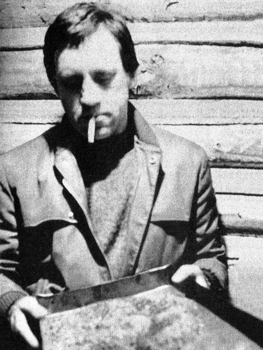 31. Владимир Высоцкий в Иркутской области. Фото Леонида Васильевича Мончинского, 15 июня 1976 года