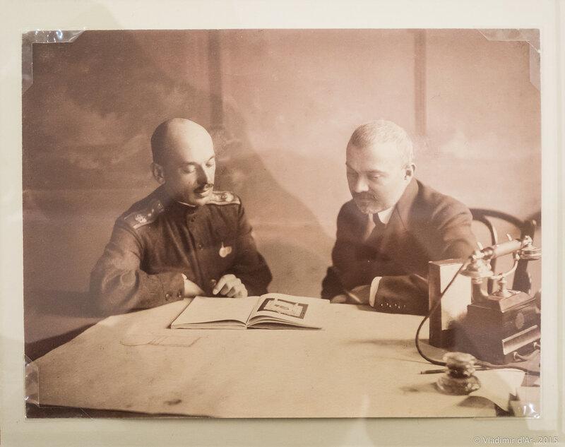 Портрет А.В. Щусева и В.В. фон Мекка. 1908-1912 гг.