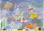 "Афанасьев Сергей (рук. Афанасьева Татьяна Альбертовна) - ""Подводный мир р. Амура"""
