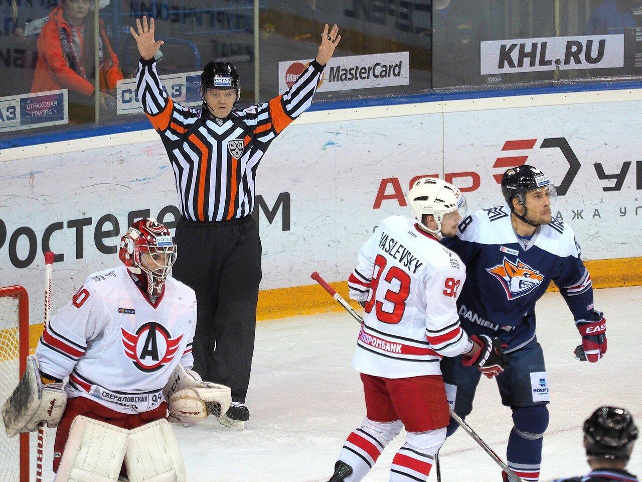 68Восток 1/4 плей-офф Металлург - Автомобилист 01.03.2016
