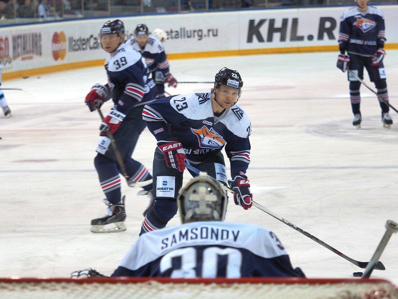 27Плей-офф 2016 Восток 1/2 Металлург - Сибирь 10.03.2016