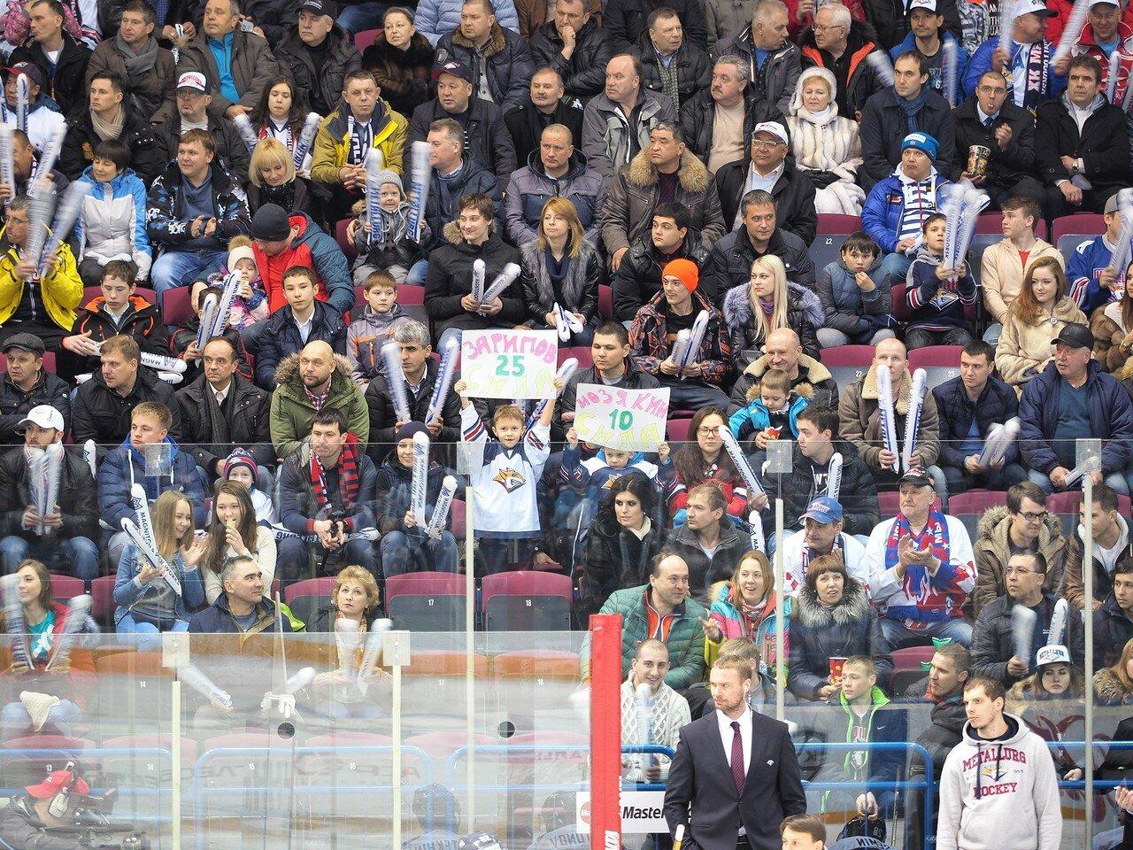 58Плей-офф 2016 Восток 1/2 Металлург - Сибирь 10.03.2016