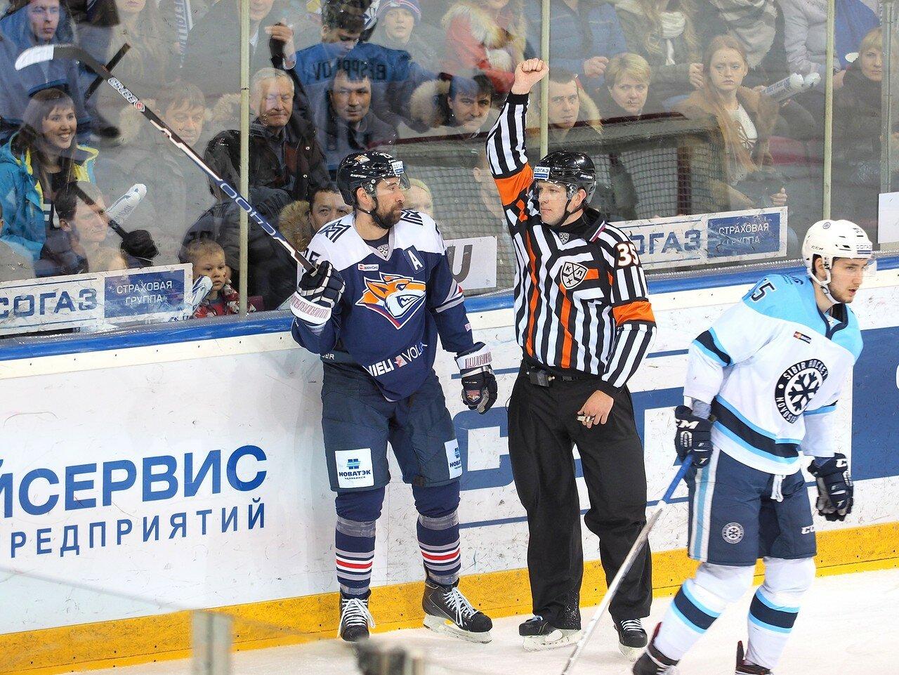 56Плей-офф 2016 Восток 1/2 Металлург - Сибирь 16.03.2016