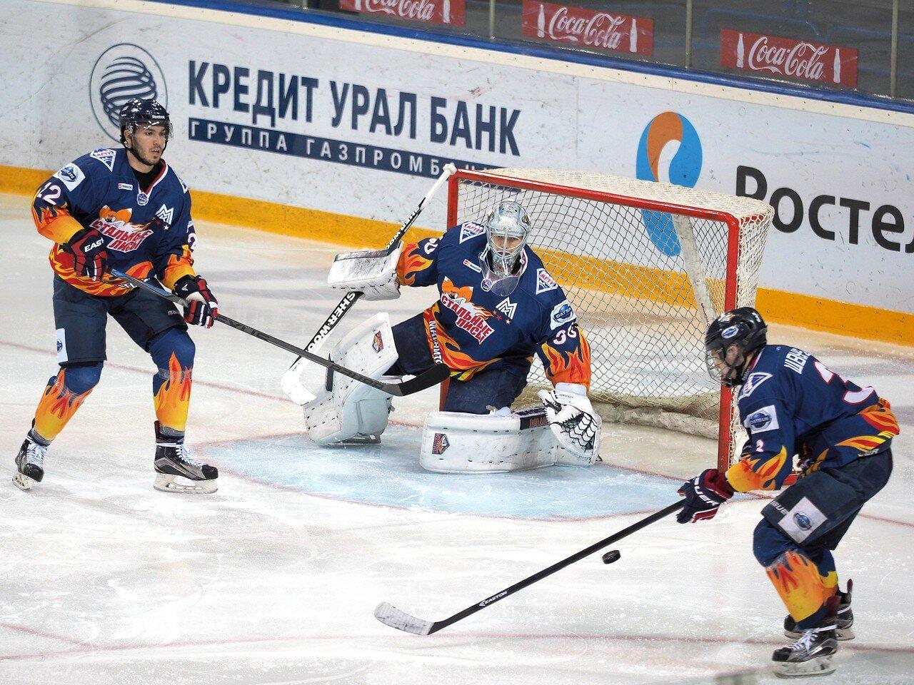 54Плей-офф МХЛ 2016 1/4 Стальные Лисы - Сибирские Снайперы 21.03.2016