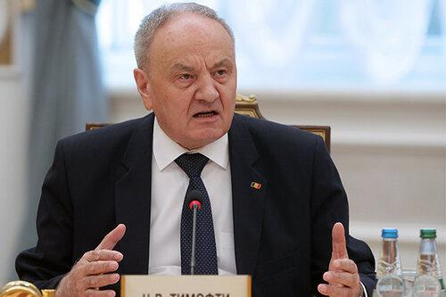 Тимофти обвинил Россию в неуважении к нейтралитету Молдовы