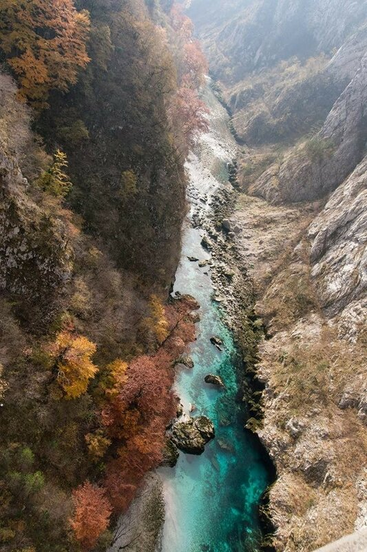 Каьон Пивского озера и реки