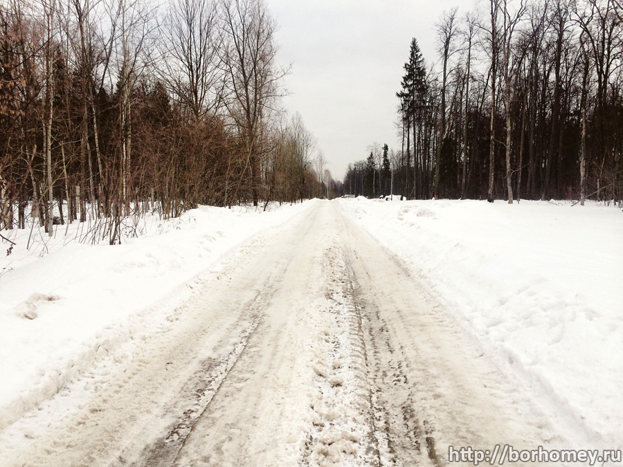Дорога к КПП-4