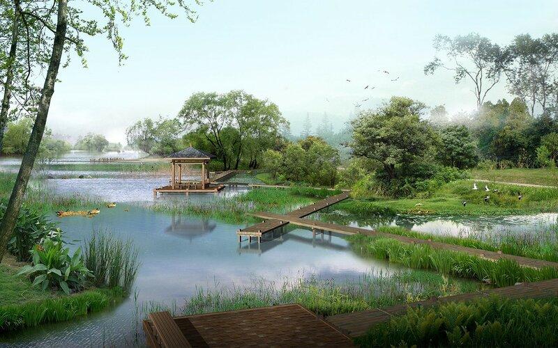 Красивые китайские пейзажи. Фотографии природы Китая, похожей на картины 0 1c4d4c 6c405d70 XL