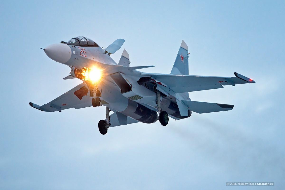 Очередные два Су-30СМ вылетели в Миллерово