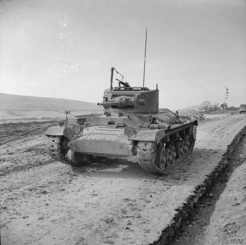Infantry Tank Mk III Valentine, 11 March 1942.