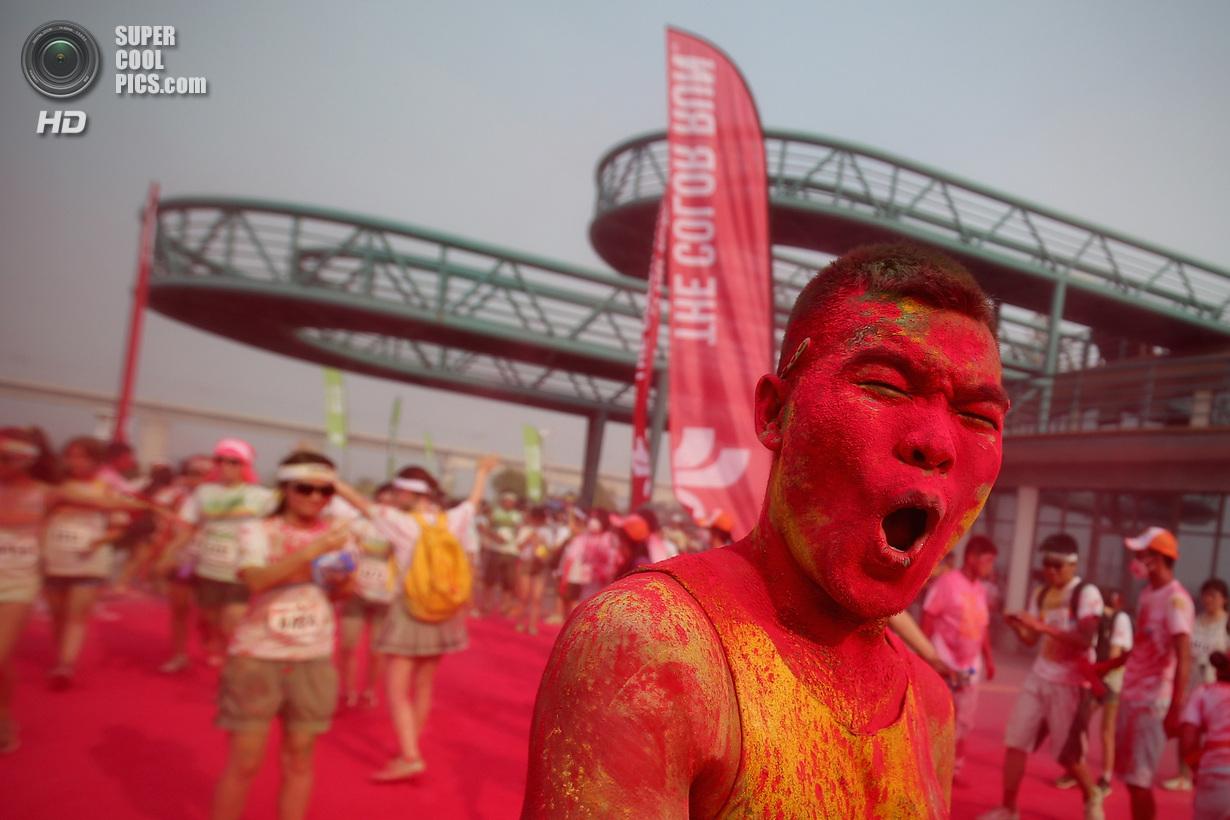 Первый китайский The Color Run (22 фото)