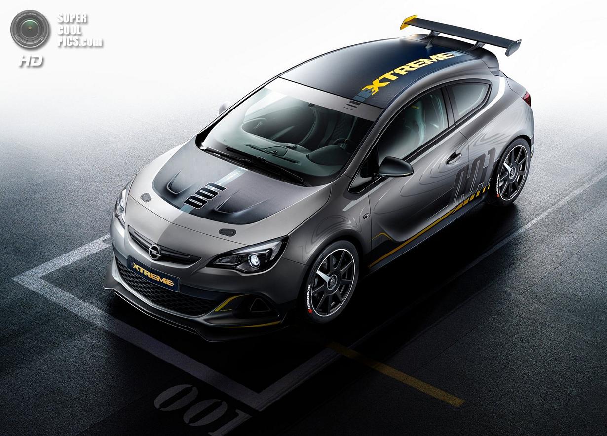 Экстремальный спорткар на базе Opel Astra (10 фото)