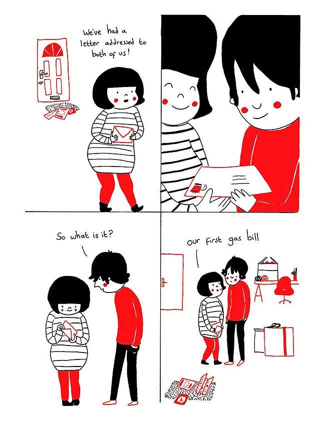 Любовь - это маленькие радости и сюрпризы