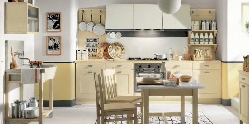 Дизайн кухни в светлых оттенках фото 15
